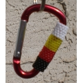 4 Direction Beaded Carabiner